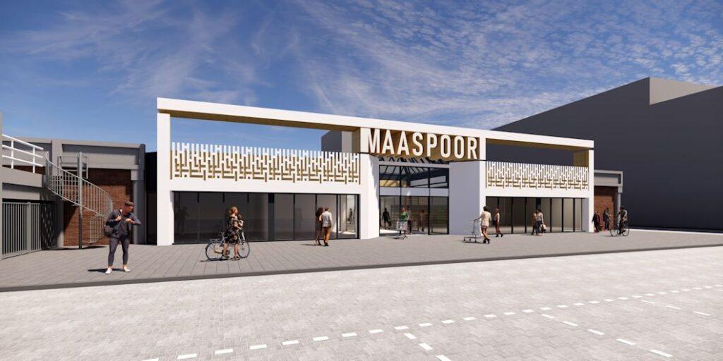 Ontwerp goedgekeurd voor verbouwing Winkelcentrum Maaspoort