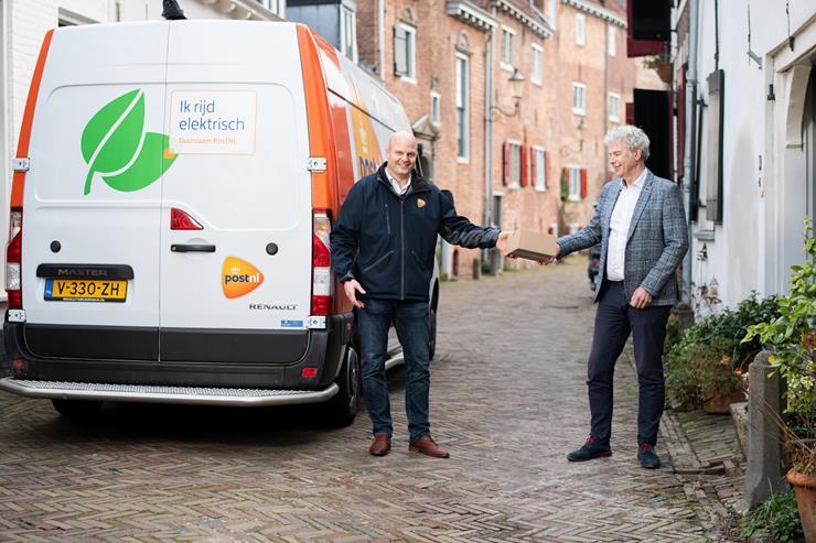 PostNL start met 'groene' pakketbezorging in Amersfoort