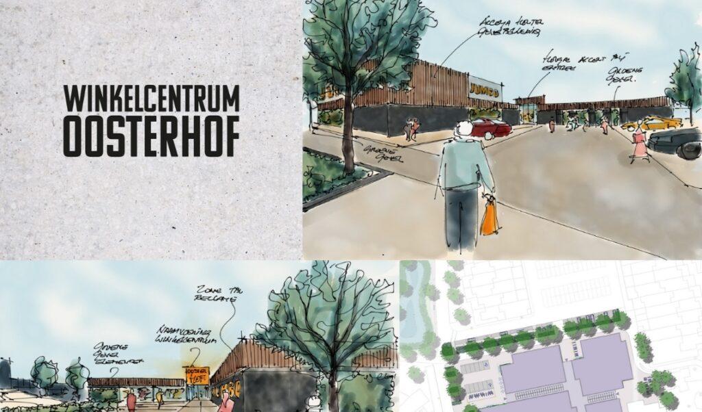 Renovatie winkelcentrum Oosterhof in Boxtel gebeurt later