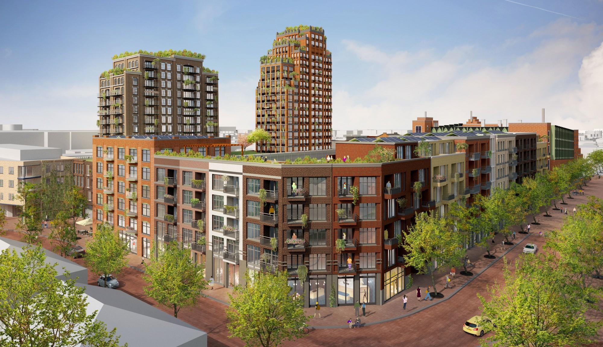 Vernieuwing Winkelcentrum Aarhof in Alphen aan den Rijn dichterbij