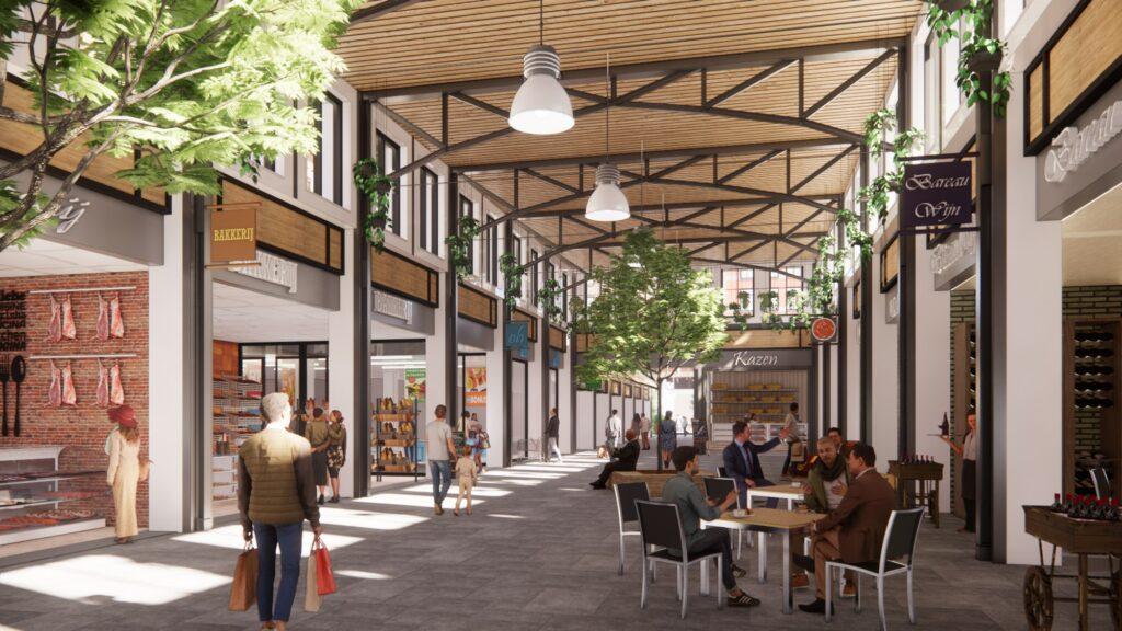 Vernieuwing Winkelcentrum De Aarhof