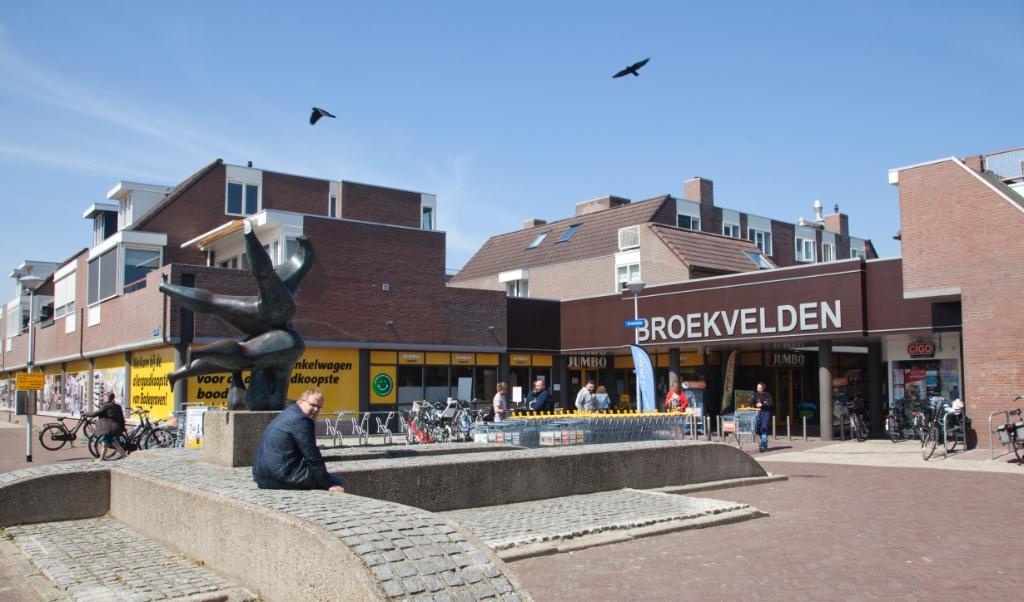 Winkelcentrum Broekvelden wordt gerenoveerd