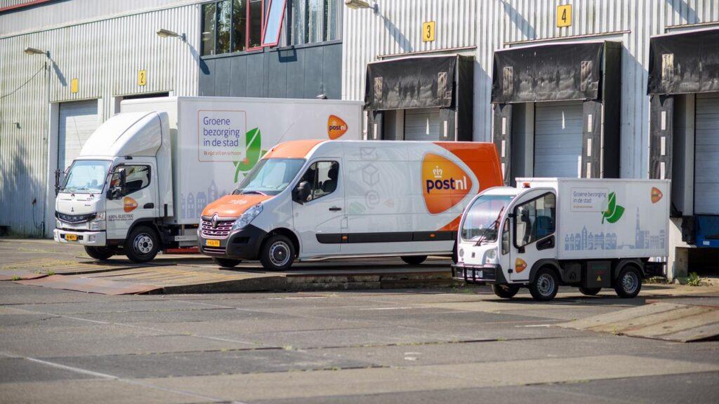 PostNL uitstootvrij bezorgen in binnenstad